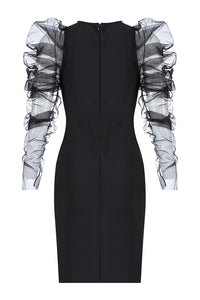 Maria Bandage Dress-Black