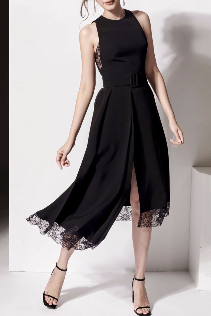 BH5944 Dress-Black