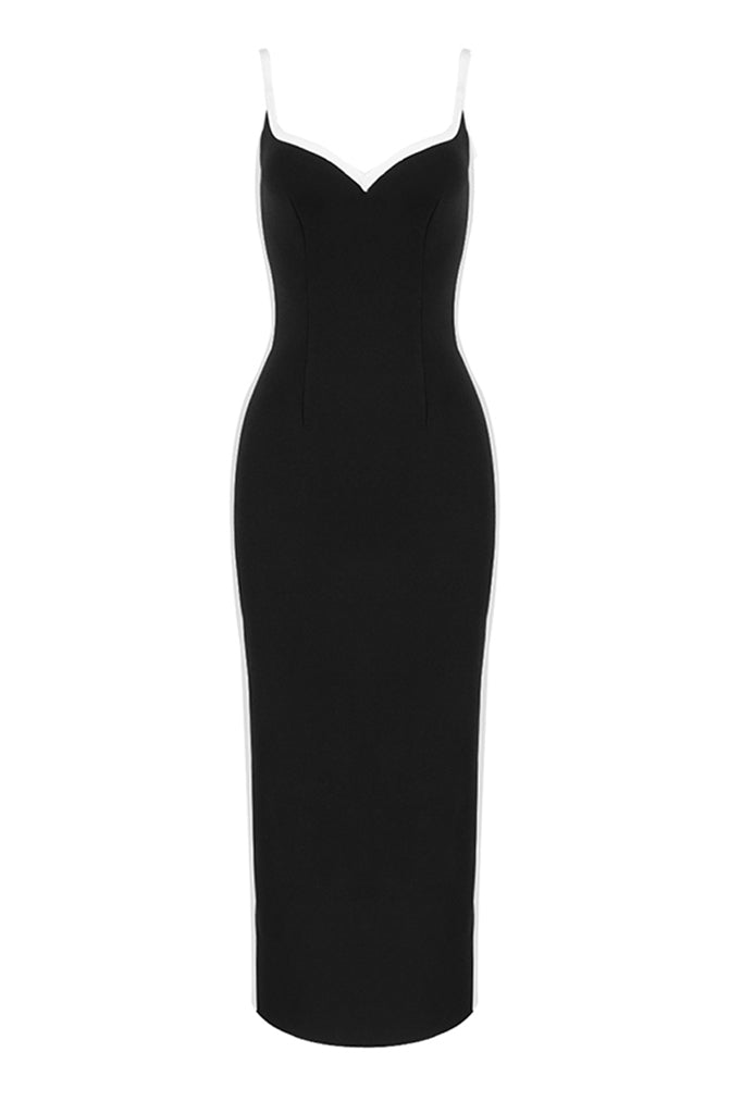 Amaya Maxi Dress | Black
