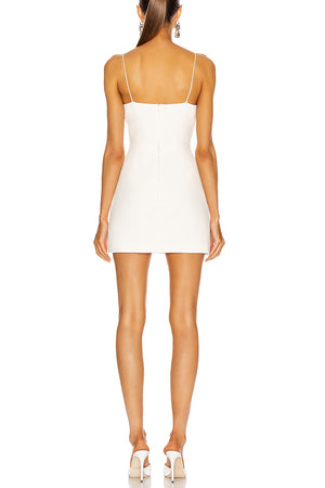 Aisha Mini Dress | White