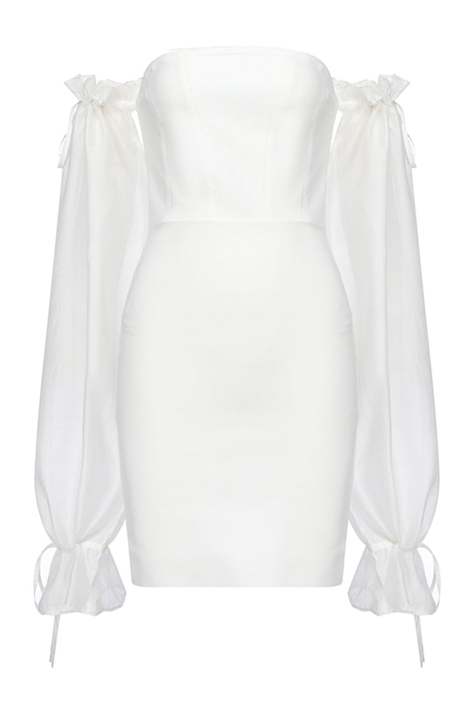 Adah Mini Dress | White