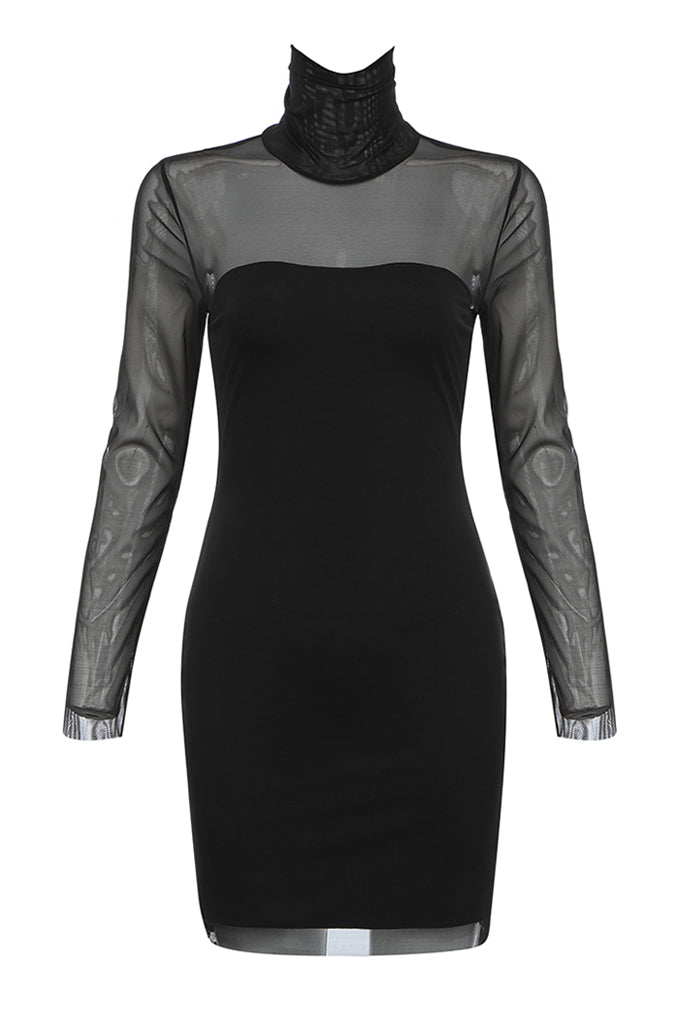 Aditi Bandage Mini Dress | Black