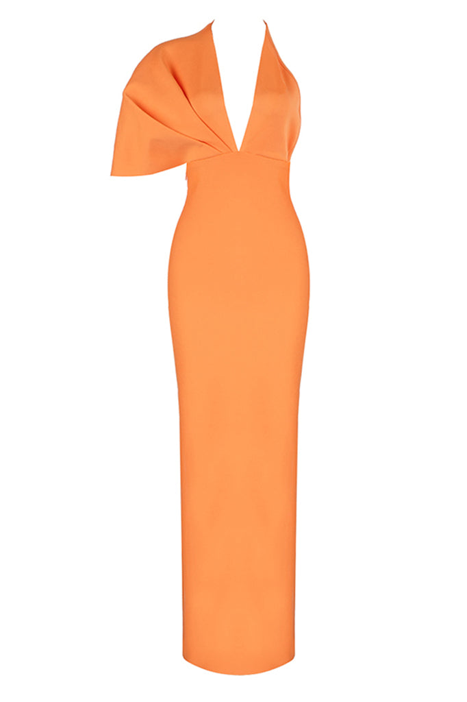 Lila Maxi Dress | Orange