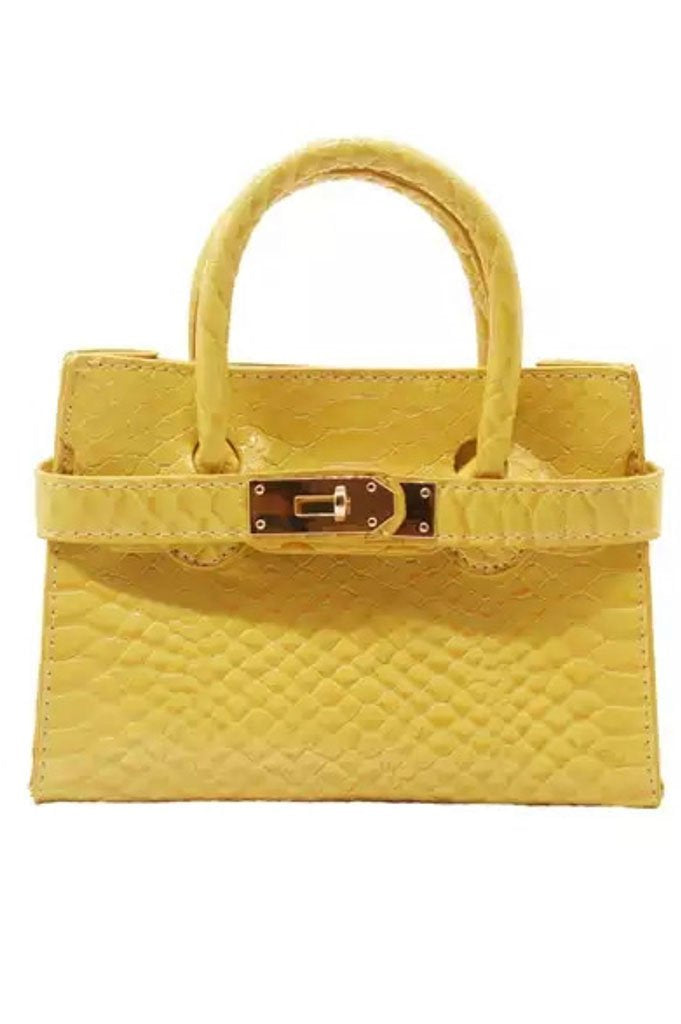 90210 Mini Bag - Yellow