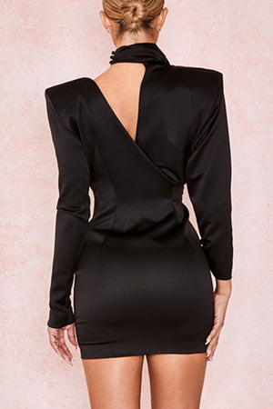 Penelope Bodycon Dress- Black