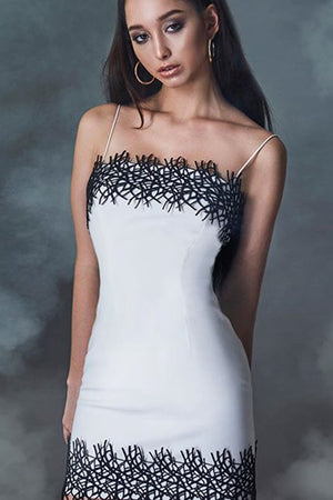 Doreen Bandage Dress- White