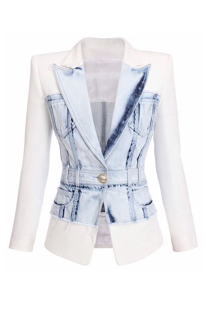 Aliyah Jacket | White
