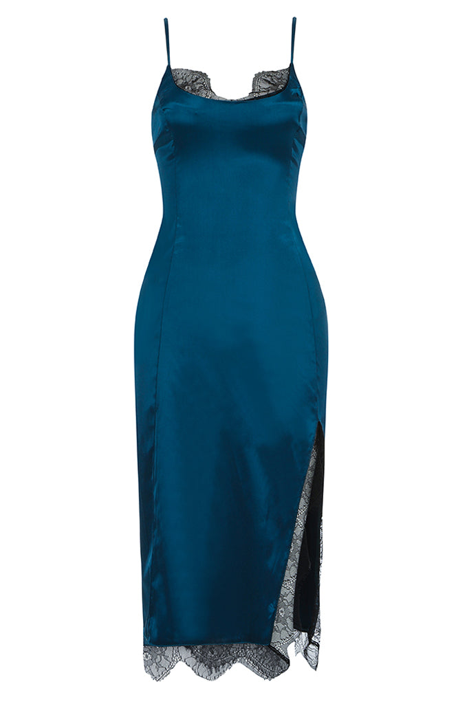 Nalani Midi Dress | Blue