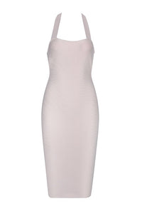 Laura Bandage Dress -Nude