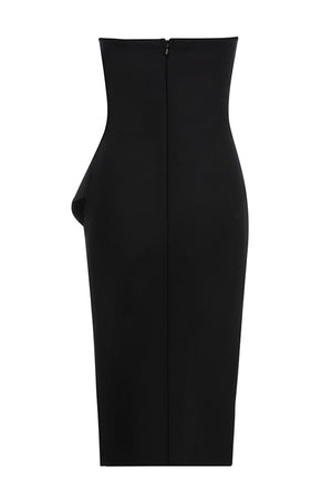 Izabella Midi Dress | Black