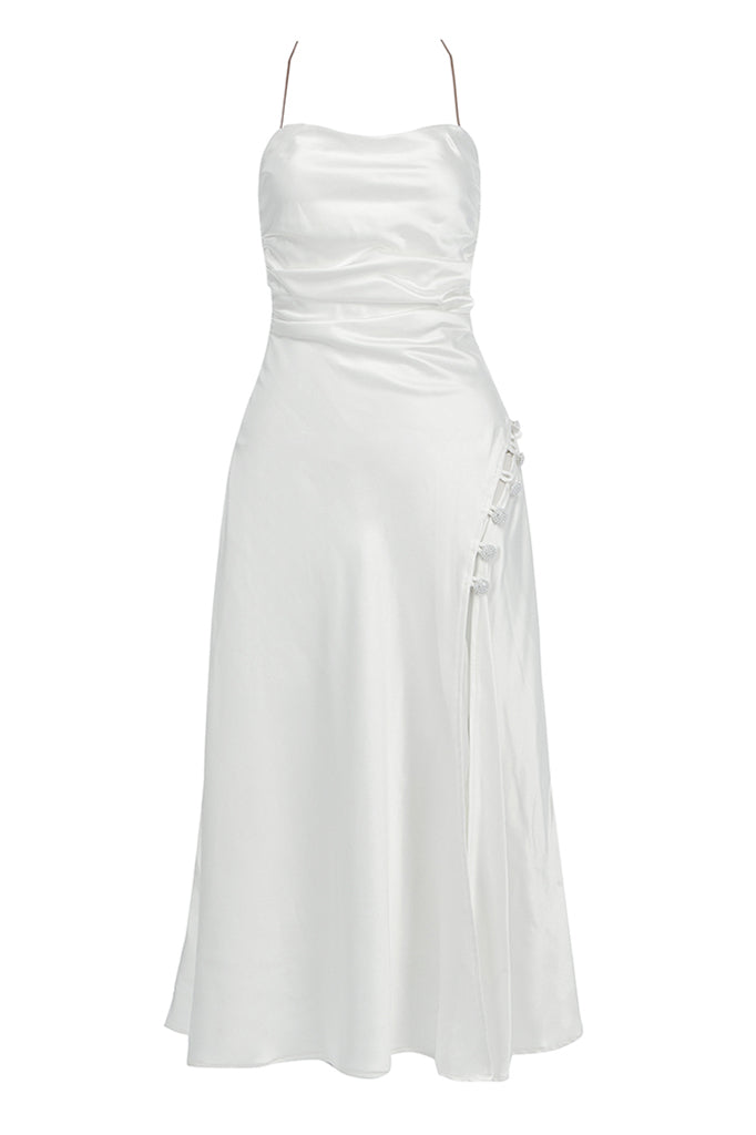Angelica Midi Dress | White