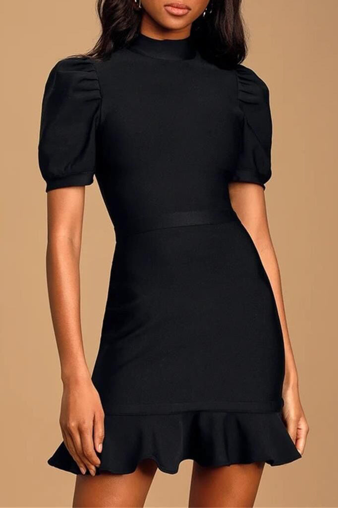 Ada Bandage Dress | Black