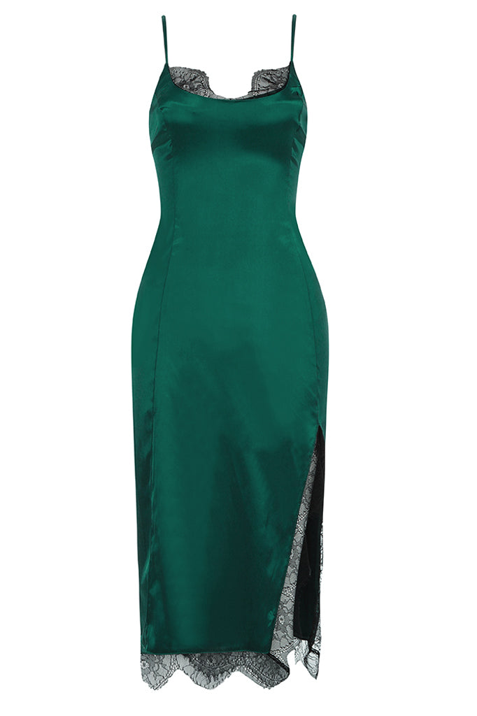 Nalani Midi Dress | Green