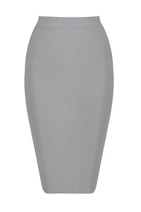H4242 Bandage Skirt - Grey
