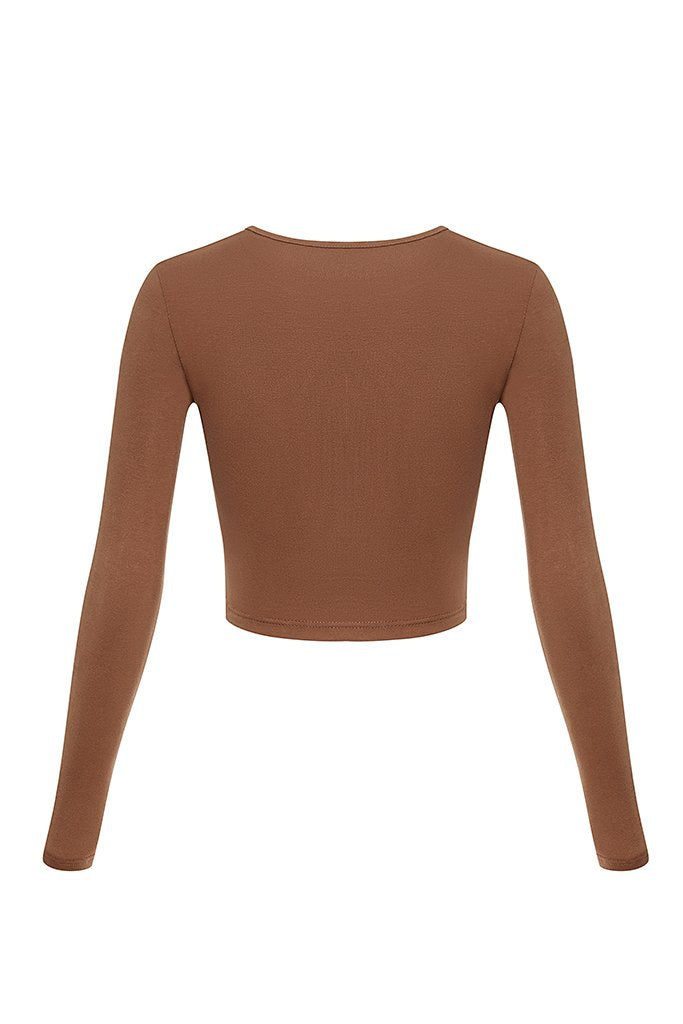 Cur Basics Top High - Chocolate