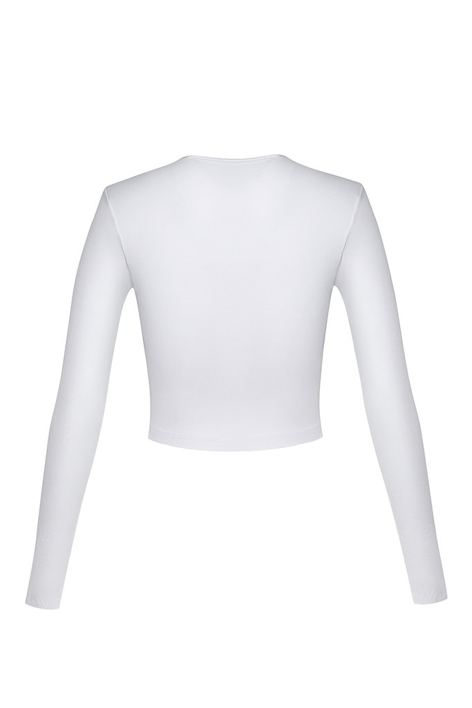 Cur Basics Top High - White