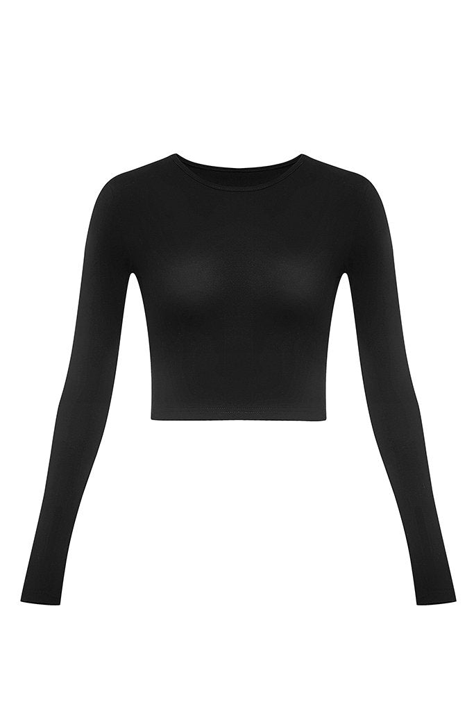 Cur Basics Top High - Black