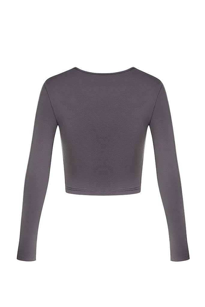 Cur Basics Top High - Grey