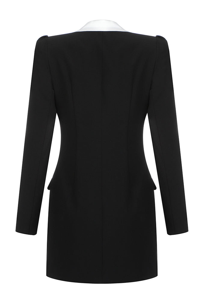 Mia Blazer Dress | Black