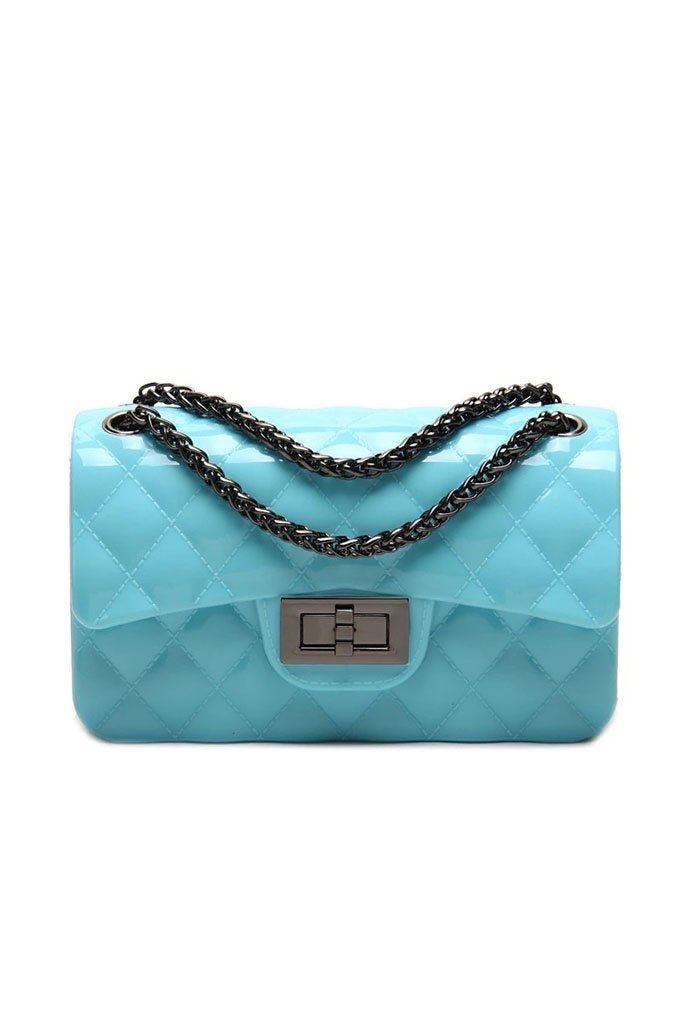Beverly Jelly Bag - Tiffany Blue