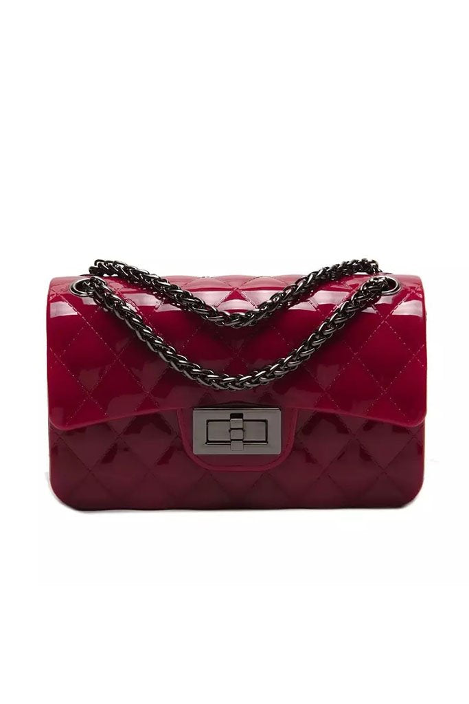Beverly Jelly Bag - Vamped Red