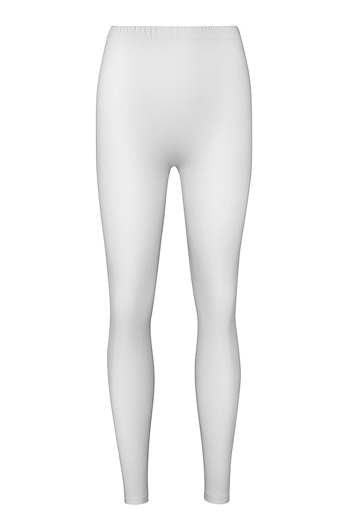 Curvas High Waisted Legging - White