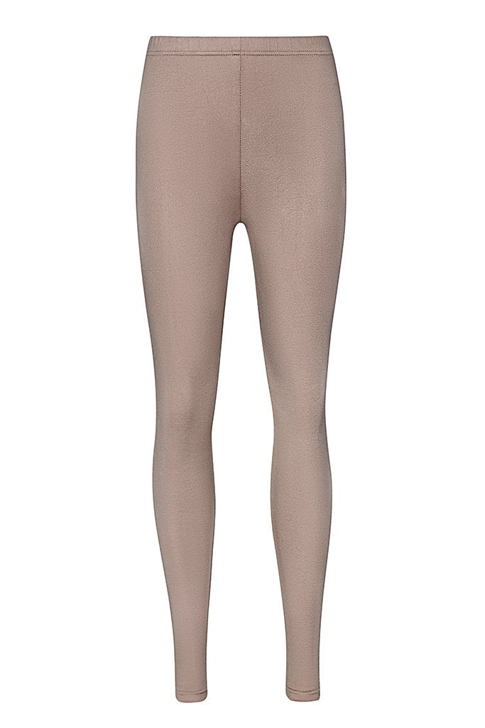 Curvas High Waisted Legging - Nude