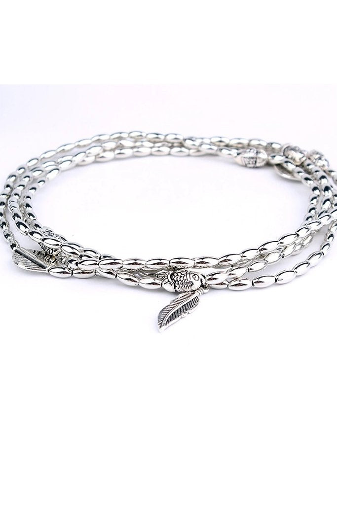 Agila Anklet - Silver