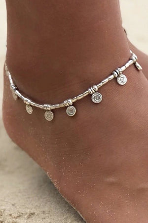 Agie Anklet - Silver