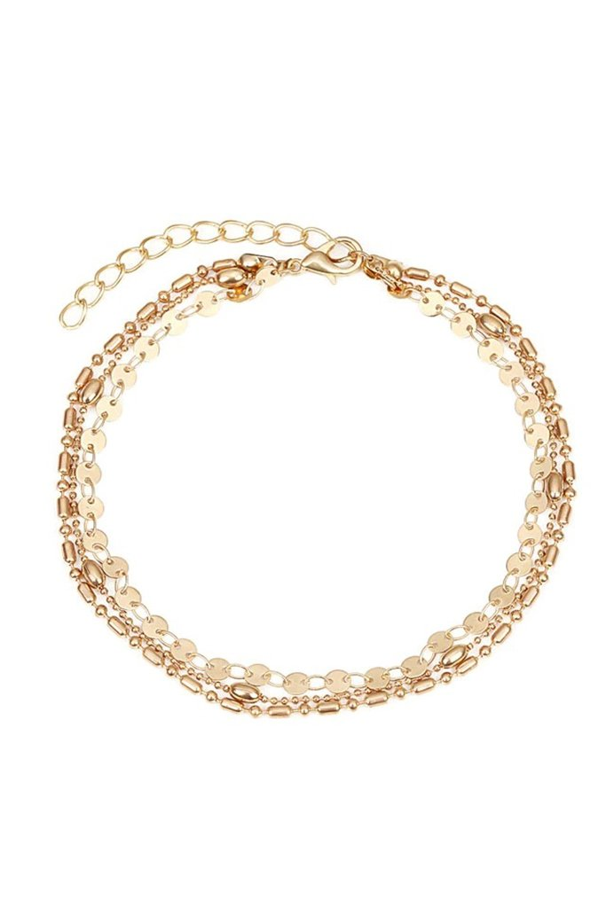 Ariza Anklet - Gold