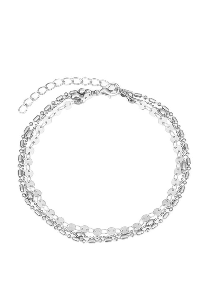 Ariza Anklet - Silver