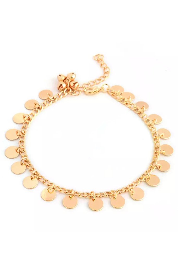 Bohemian Anklet - Gold