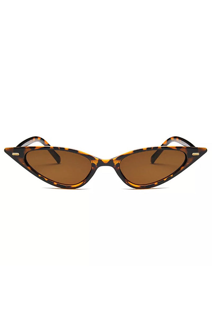 Cat Eye Sunglasses - Turtle