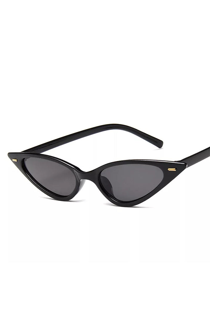 Cat Eye Sunglasses - Noir