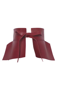 Snatch Me Up Belt - Burgundy