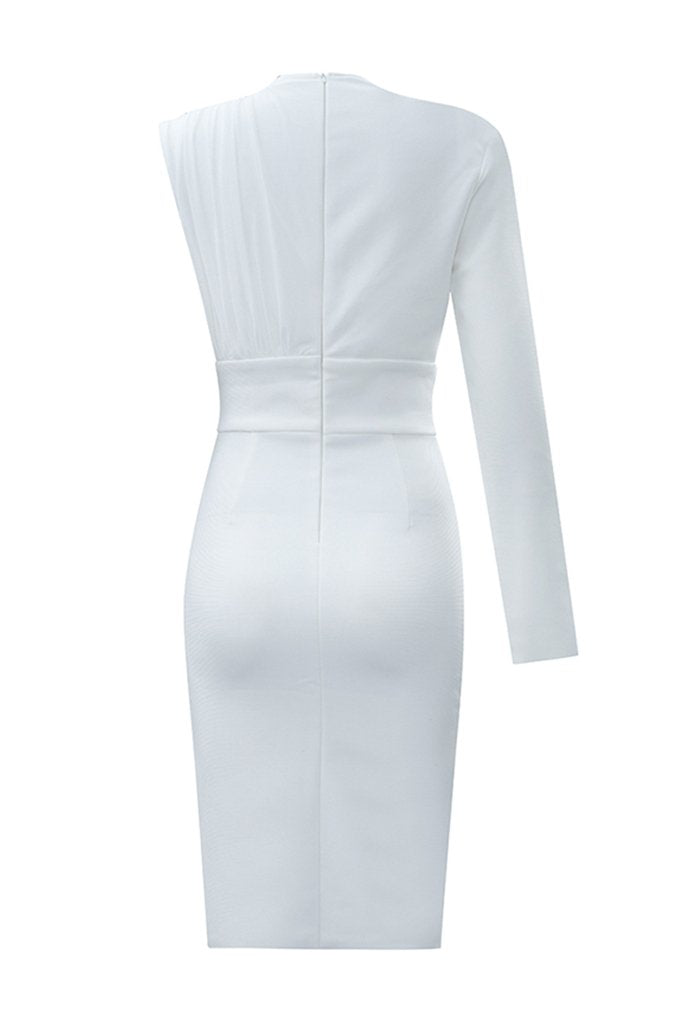 Miranda  Bandage Dress - White