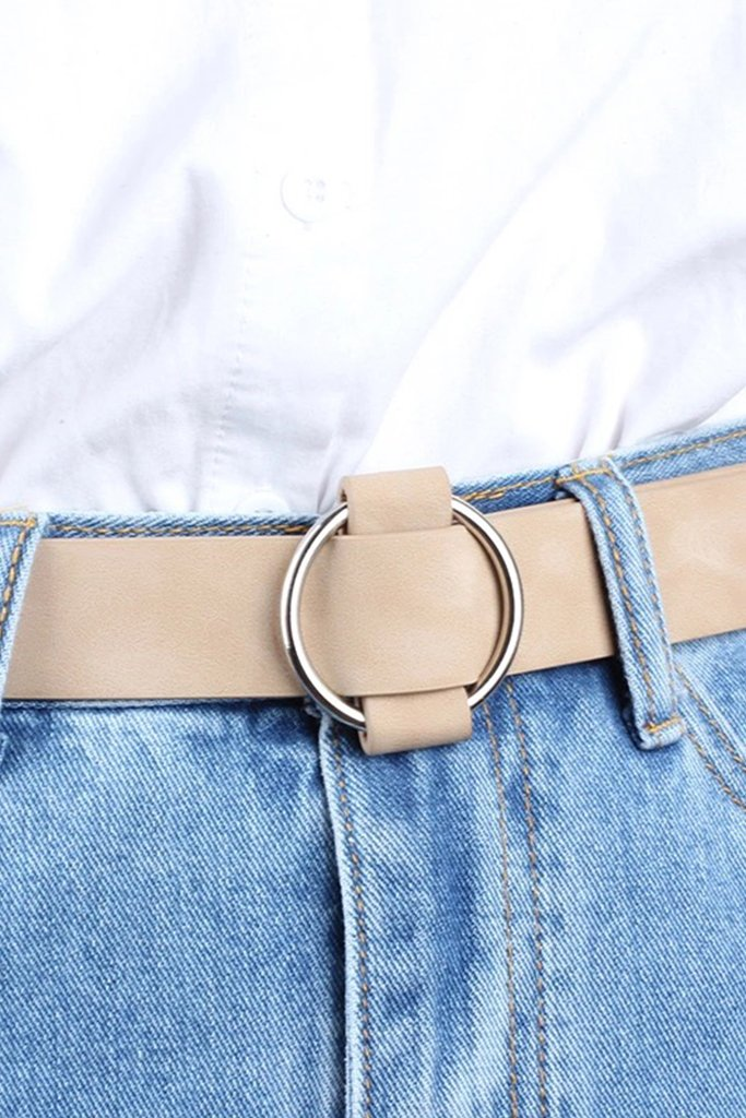 The Blogger Belt - Nude