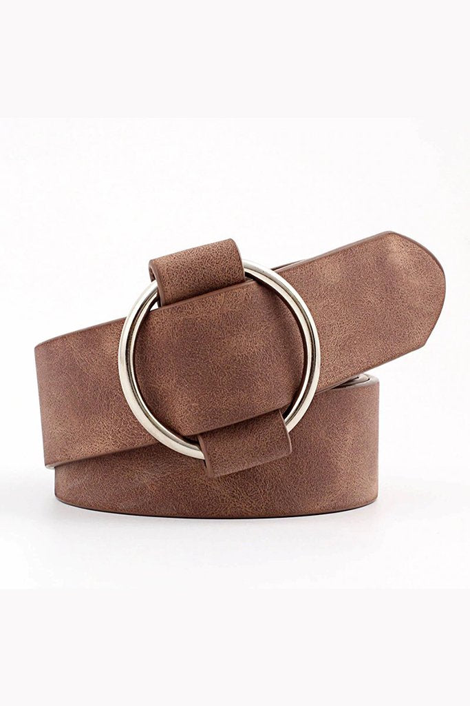 The Blogger Belt - Mocha