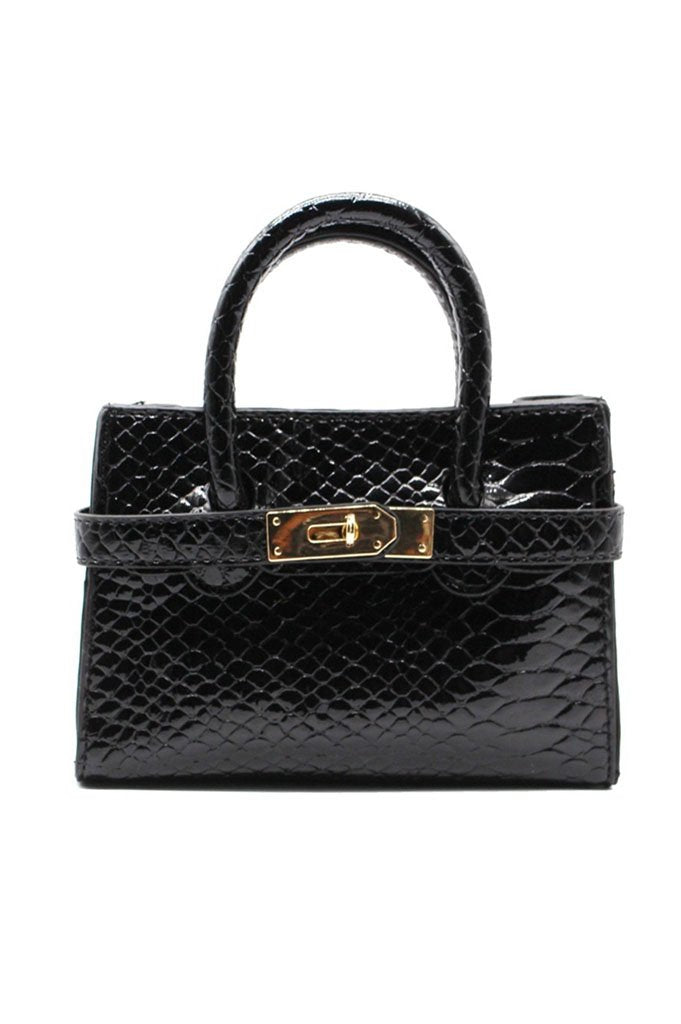 90210 Mini Bag - Black