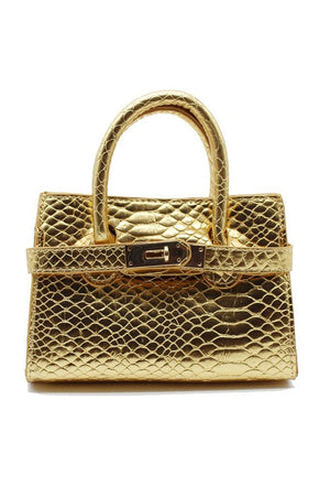 90210 Mini Bag - Gold