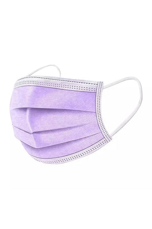 Disposable Face Mask - Purple