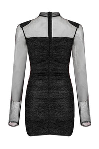 Beata Bandage Dress-Black