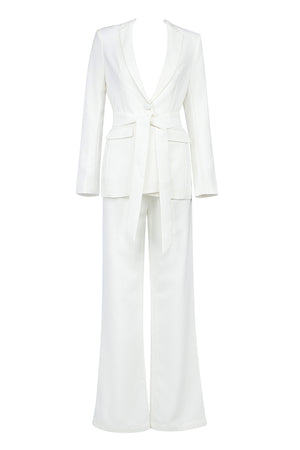 Alessia 2 Pieces Suit | White