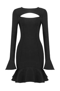 Beulah Mini Dress | Black