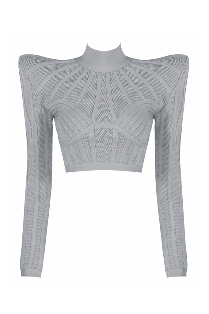Anita Bandage Top | Grey