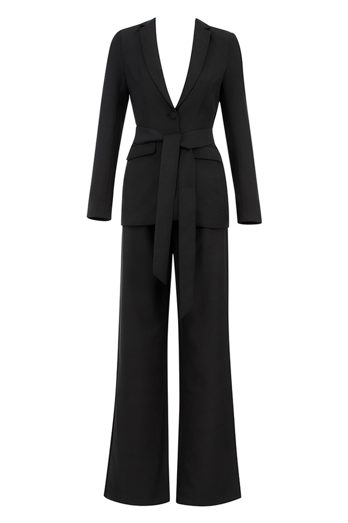 Alessia 2 Pieces Suit | Black