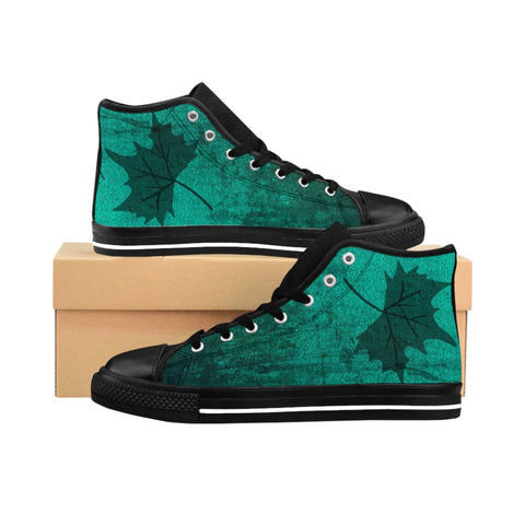 LEAF ~ Unisex High-top Sneakers
