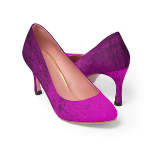 TEXTURES Fucsia ~ Women's High Heels