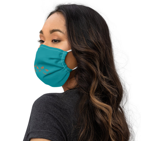 Tardor 2020 ~ Turquoise Face  mask