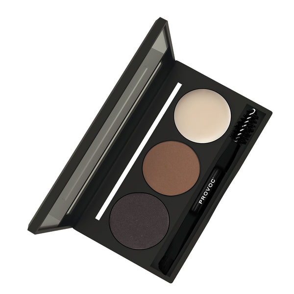 DARK BROWN | EYEBROWNS BROW PALETTE